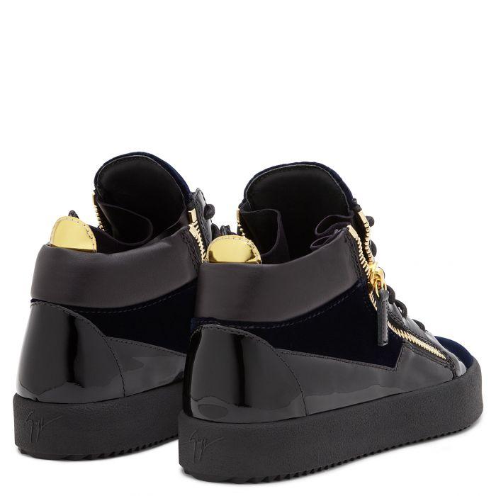 KRISS - Blu - Sneaker mid top