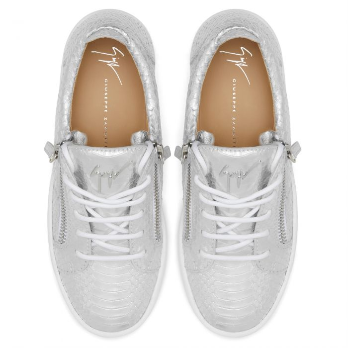 GAIL - Argent - Sneakers basses