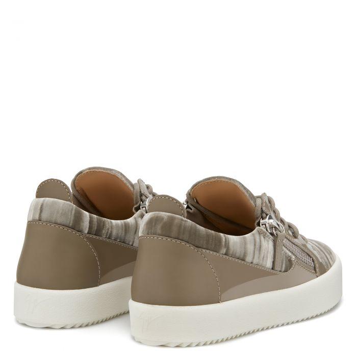 GAIL VELVET - Grey - Low top sneakers