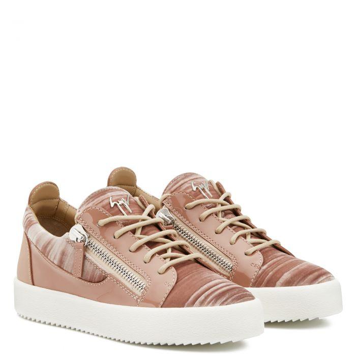 GAIL VELVET - Pink - Low Top Sneakers