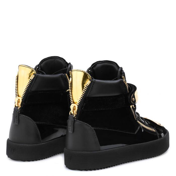 COBY - Noir - Sneakers montante
