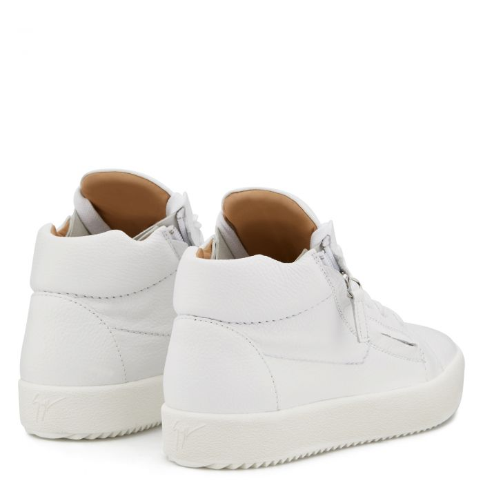 JUSTY - White - Mid top sneakers
