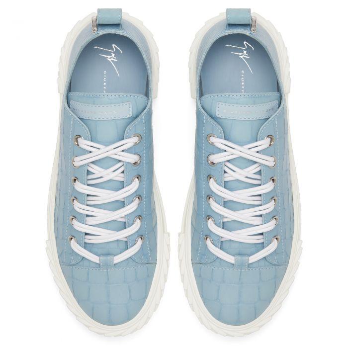 BLABBER - Blue - Low top sneakers