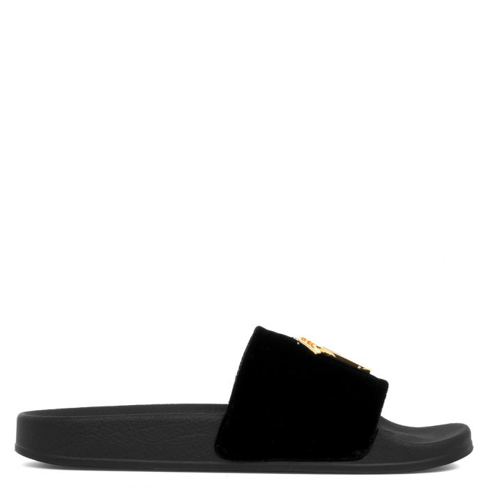 BRETT - Schwarz - Flache Schuhe