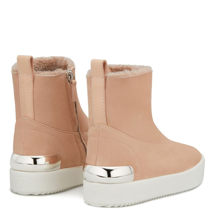 TRACY STEEL - Pink - High top sneakers