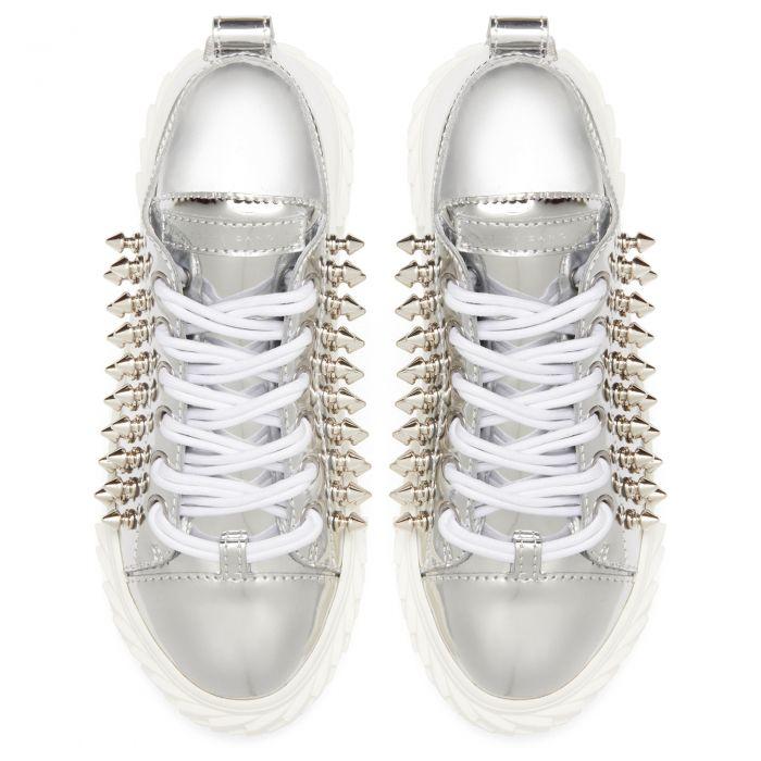 BLABBER - Silberfarben - Low Top Sneakers