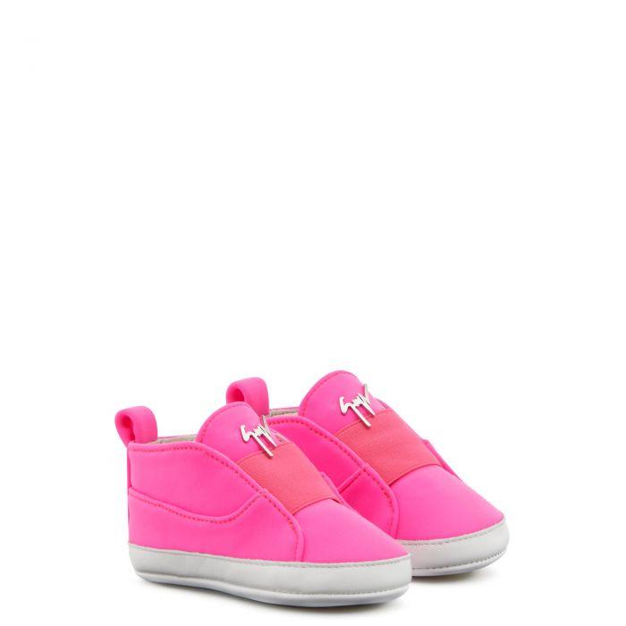 DENVER - Fuxia - Low top sneakers