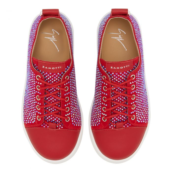 PYIN - Red - Low top sneakers