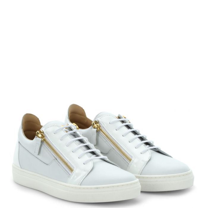 FRANKIE JR. - White - Low top sneakers