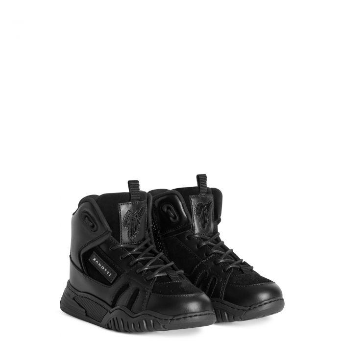 TALON JR. - Noir - Sneakers montante