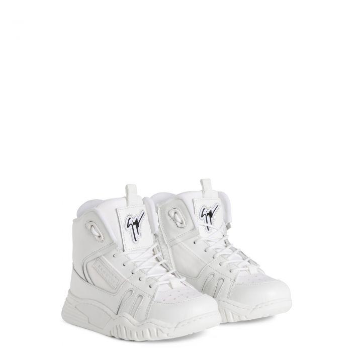 TALON JR. - Blanc - Sneakers montante