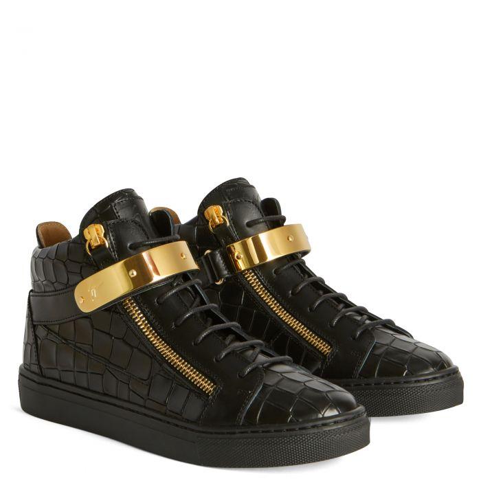 KRISS 1/2 JR. - Noir - Sneakers montante