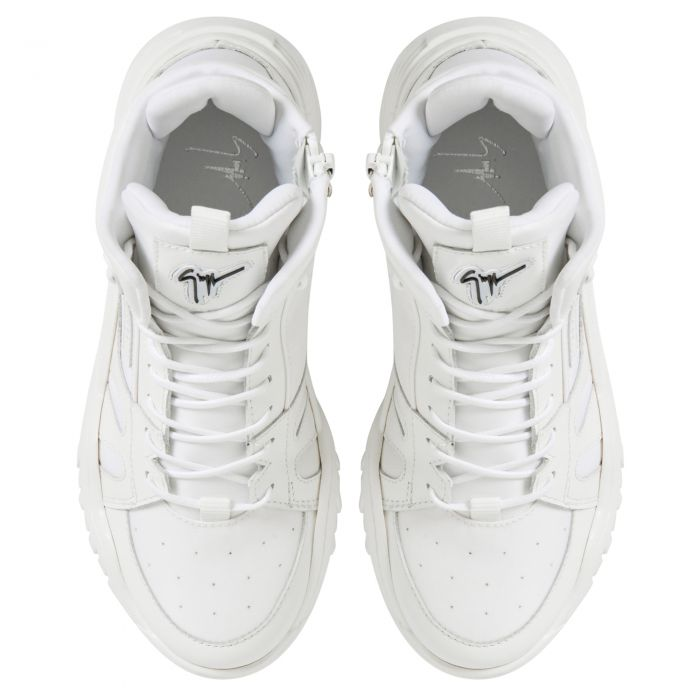 TALON JR. - Bianco - Sneaker mid top