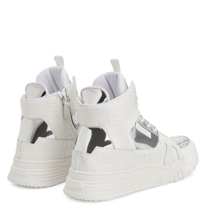 TALON JR. - Argent - Sneakers montante