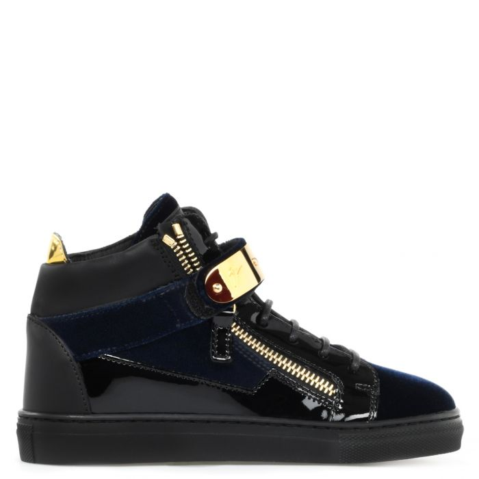 KRISS 1/2 JR. - Blue - Mid top sneakers