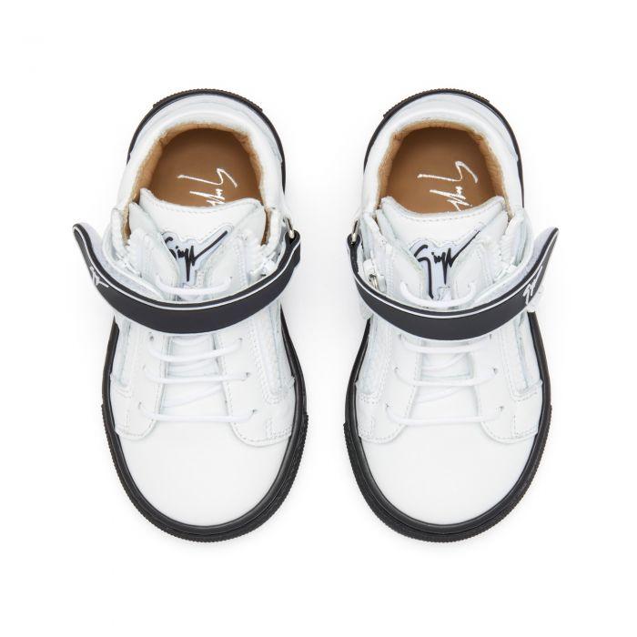 KRISS 1/2 JR. - Bianco - Sneaker mid top