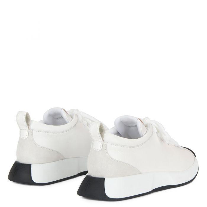 GIUSEPPE ZANOTTI FEROX - White - Low top sneakers