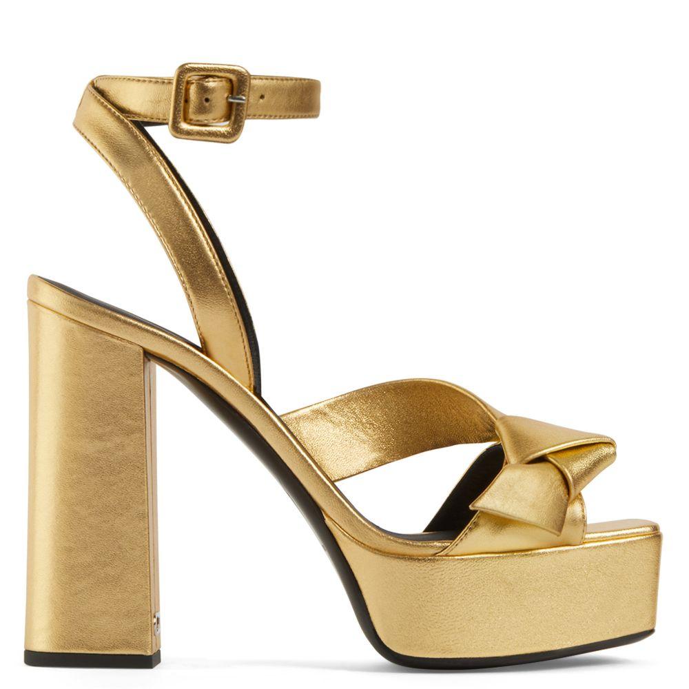 LAILA - Sandals - Gold | Giuseppe