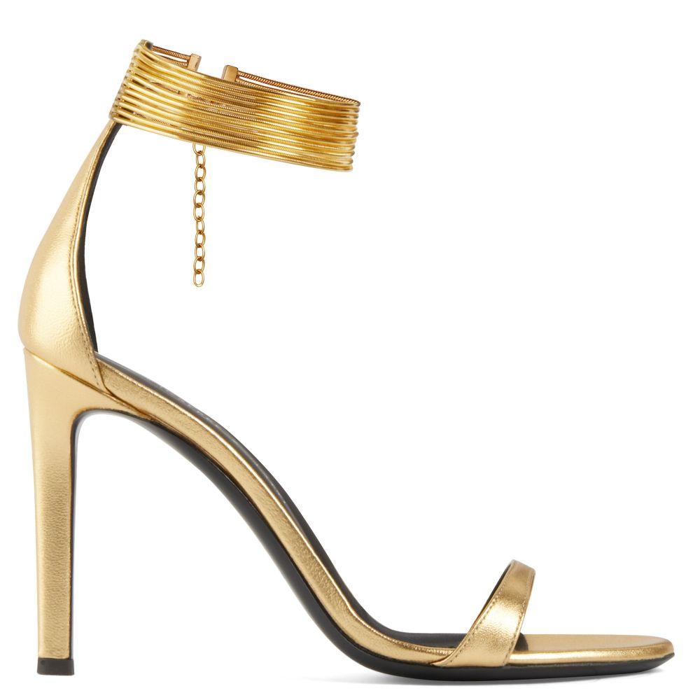 KAY - Sandals - Gold | Giuseppe Zanotti