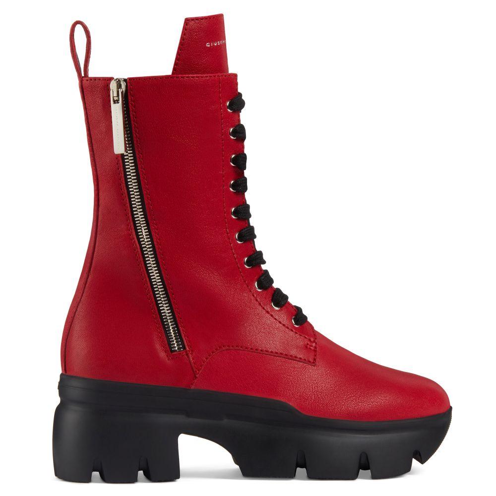 APOCALYPSE - Rosso - Stivali
