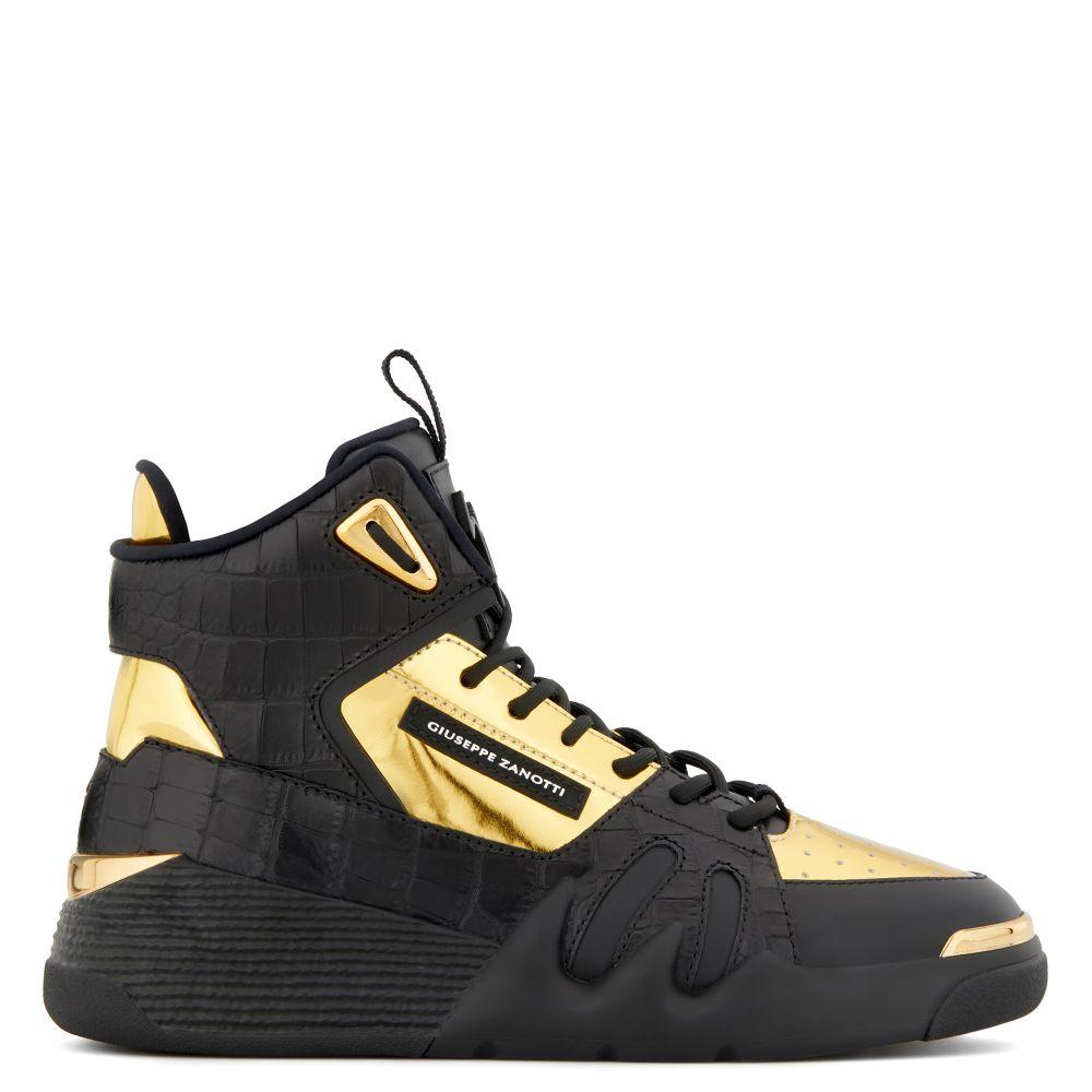top sneakers - Gold | Giuseppe Zanotti