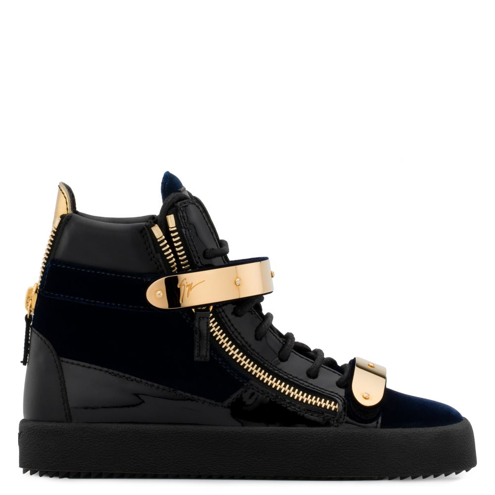 COBY - High top sneakers - Blue