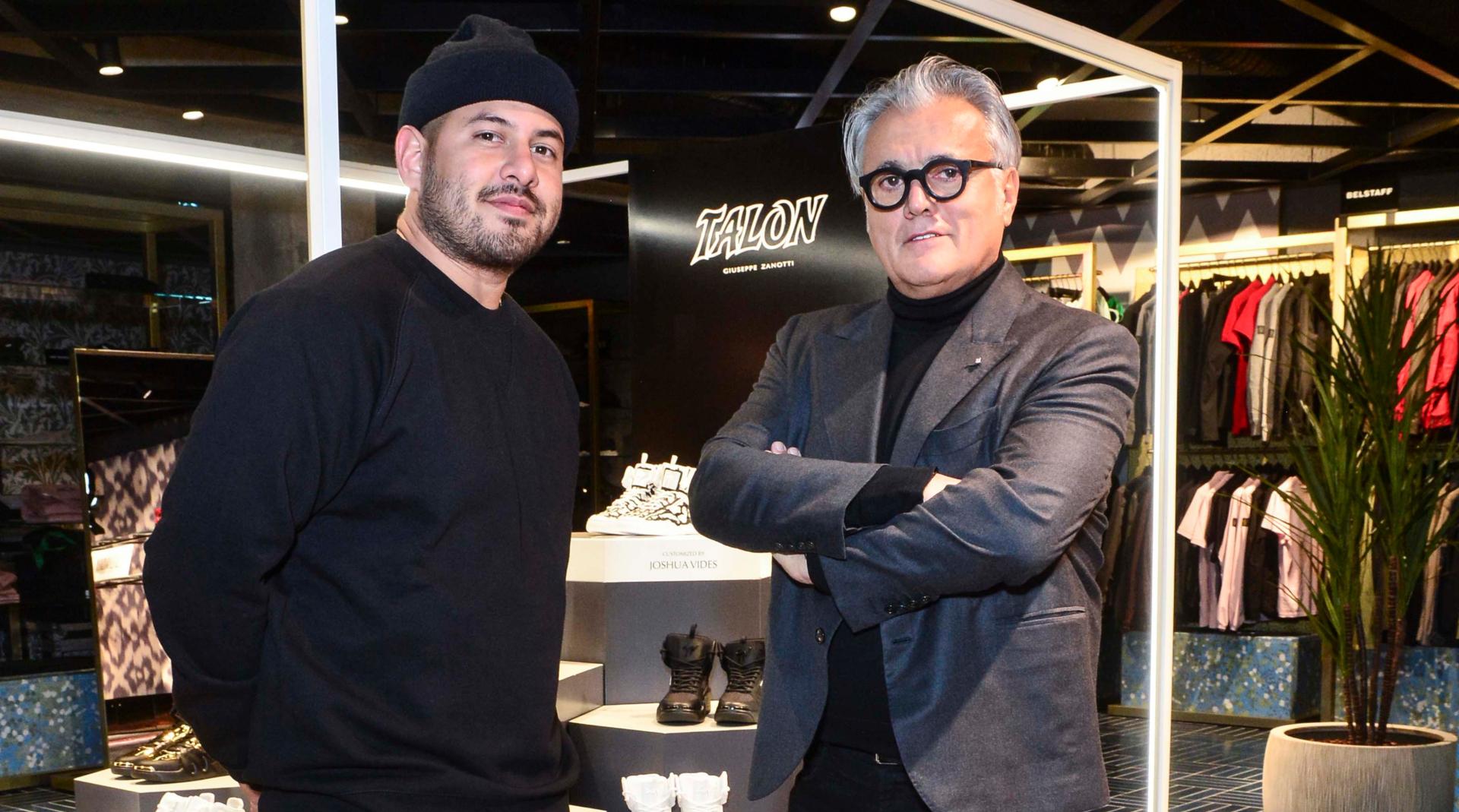 Giuseppe Zanotti and Joshua Vides host